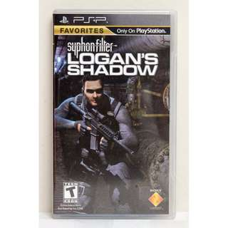 Syphon Filter Logan's Shadow - PSP Video Game