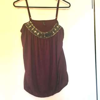 Top with Studs Details