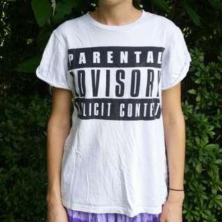 Parental Advisory Tee Shirt