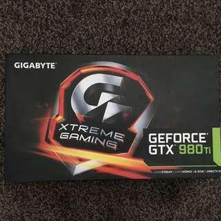 Xtreme Gaming Geforce GTX 980Ti