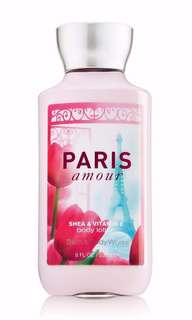 """Bath and Body Works Lotion """"Paris Amour"""""""