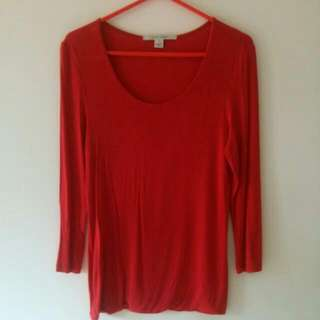 Rust Jersey Top Laura Ashley S