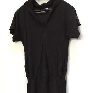 Diesel Hooded Dress XS