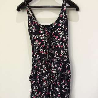 Floral Long Jumpsuit