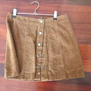 Dotti Brown Skirt Size 10