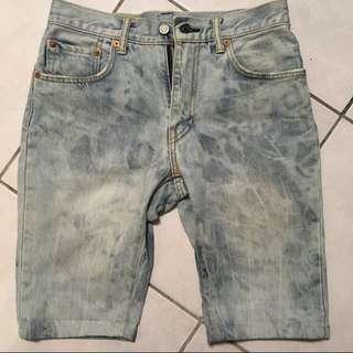 🎖便宜賣🎖Levi's 551 刷色短褲