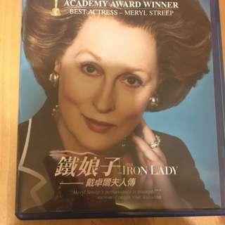 The Iron Lady_blu-ray