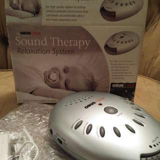 ObusForme Sound Therapy Relaxation System