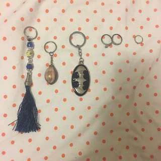 Keychains, and Rings!
