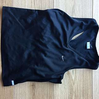 Nike Black Exercise Top #under20