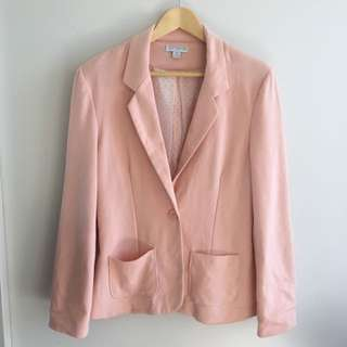 CottonOn: Peach/blush blazer