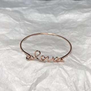 Les Cleias Love Bangle Bracelet