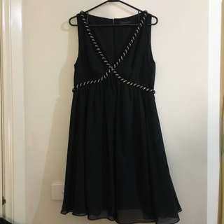 Forever New Black Formal Dress