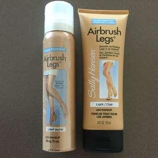 Sally Hansen Airbrush Legs Set (lotion AND Spray) Brand New