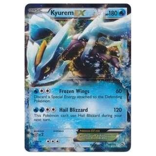 KYUREM EX – Legendary Treasures – Pokemon card