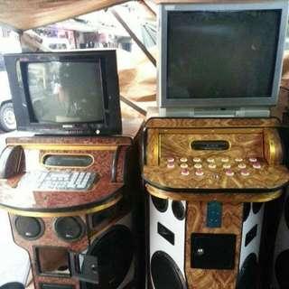 Videoke Machine And DVD,amplifier,speaker