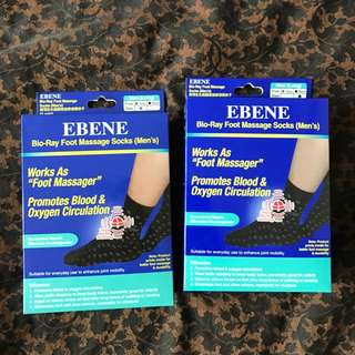 Ebene Bio Ray Foot Massage Socks Man