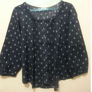 Navy Top by Hammer