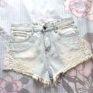 F21 Lace Short