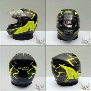 Helm Nolan N64 Hexagon Black Yellow