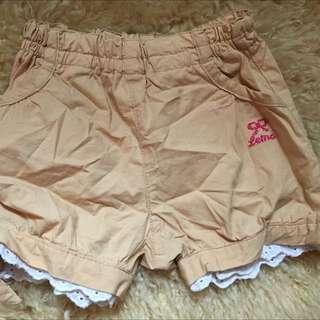 日系女童短褲