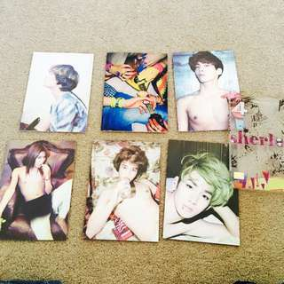 Shinee Sherlock 4th Edition Photo Albums
