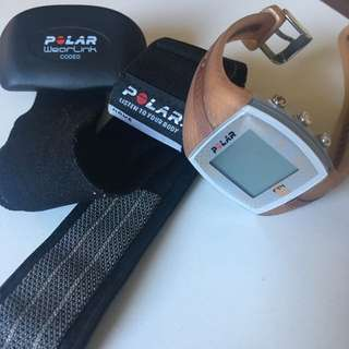 Polar FT4 Watch + Accessories
