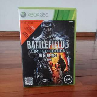Battlefield 3, For Xbox 360 , Limited Edition