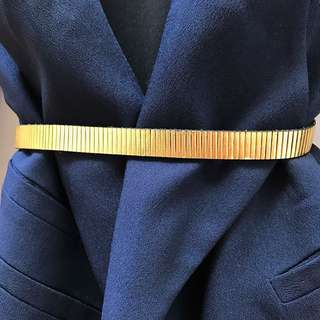 Country Road Leather Gold Belt