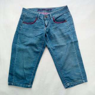 Mossimo Cropped Denim Pants