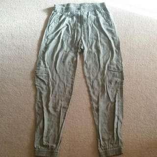 Cotton On Khaki Pant Size 12 ( 10>14)