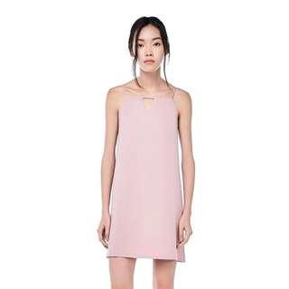 TEM Yolana Keyhole Slip Dress