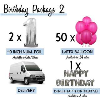Birthday Package 2