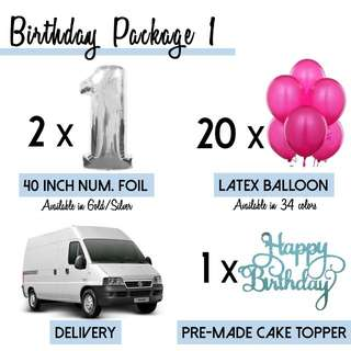 Birthday Package 1