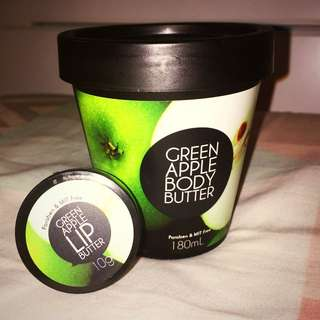Green Apple Body Butter And Lip Butter #under20