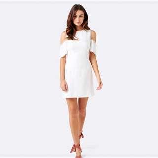 Forever New White Dress 10