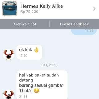 testi hermes bag