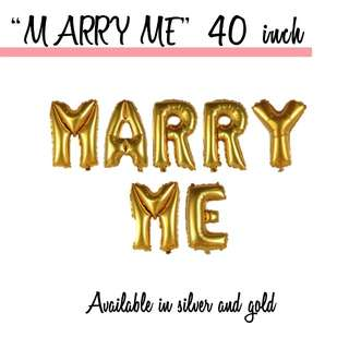 "[SALES] ""Marry Me"" 40 Inch Balloons [HELIUM]"