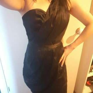 Maticevski Black Cocktail Dress - Size 6