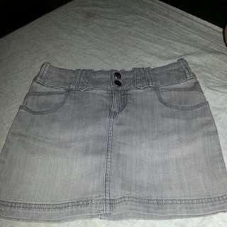 Roxy Denim Skirt