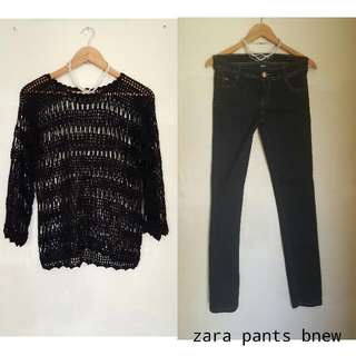Preloves Clothes Except Zara Pants Bnew