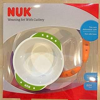 🚚 NUK 離乳入學習餐具組