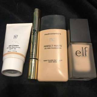 Foundations/ Concealers