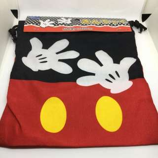 Small Size Mickey Mouse Drawstring Bag 索繩袋