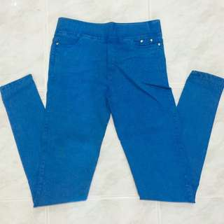 Bright Blue Jeggings