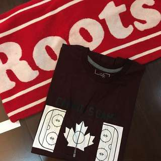 Roots game 男短T M