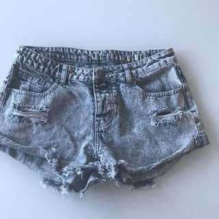 Ladies Women's Denim Shorts