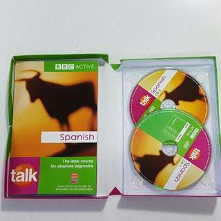 BBC Beginners Spanish CD & book