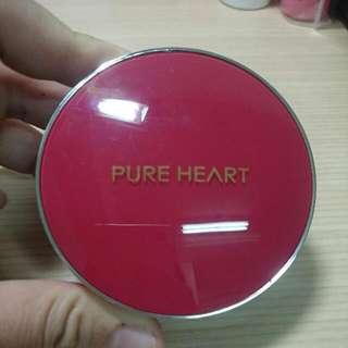 🚚 PURE HEART 絲光透白CC防曬氣墊粉餅