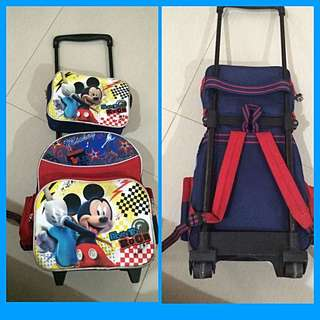 Stroller Mickey Mouse School Bag